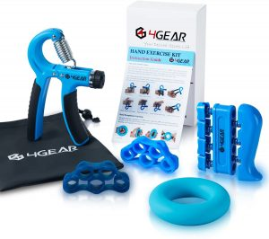 4GEAR Hand Grip Strengthener Workout Kit