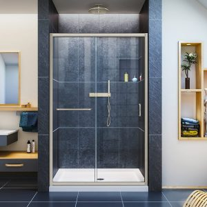 DreamLine Infinity-Z Semi-Frameless Sliding Shower Door