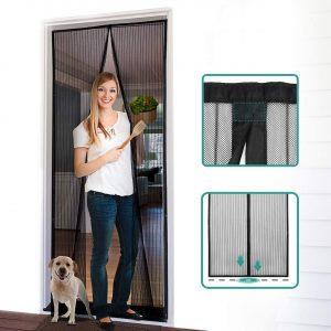Homitt Magnetic Screen Door with Heavy Duty