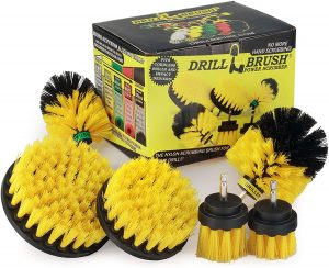 Useful Products Drill Brush Power Shower Cleaner