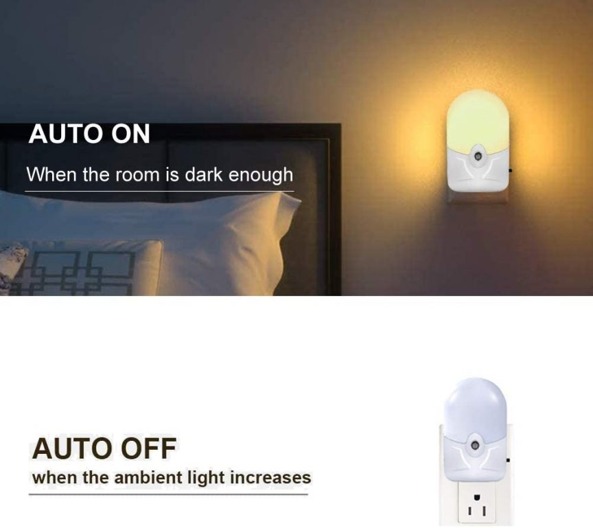 Dimmable LED Night Light
