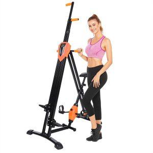 Flyerstoy Folding Vertical Climber Home Gym