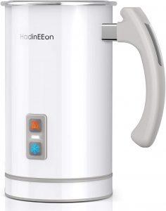 HadinEEon Milk Frother, Stainless Steel