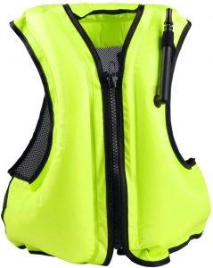 Rrtizan Inflatable Life Jacket Adult Swimming Vest