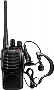 Arcshell Rechargeable 2-Way Radios- 6 Pack