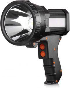 BUYSIGHT hand held flashlight Lightweight & Super bright