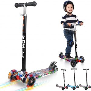 VOKUL Kick Scooter for Kids 3 Wheel Scooter