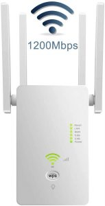 GINKHY WiFi Extender Signal Booster for Home