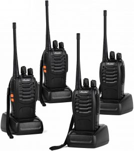 Ansoko Walkie Talkies for Adults Rechargeable Two Way Radios