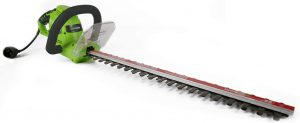 Greenworks 22122 Corded Electric Hedge Trimmer, 22-Inch