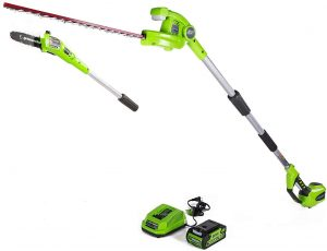 Greenworks PSPH40B210 Hedge Trimmer - Charger Included
