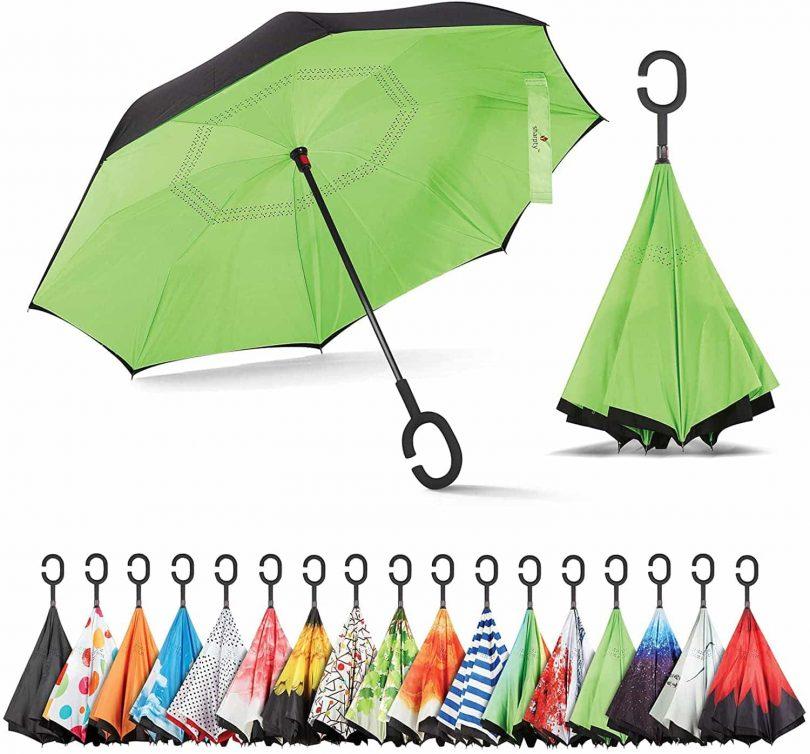 Sun umbrella for walking