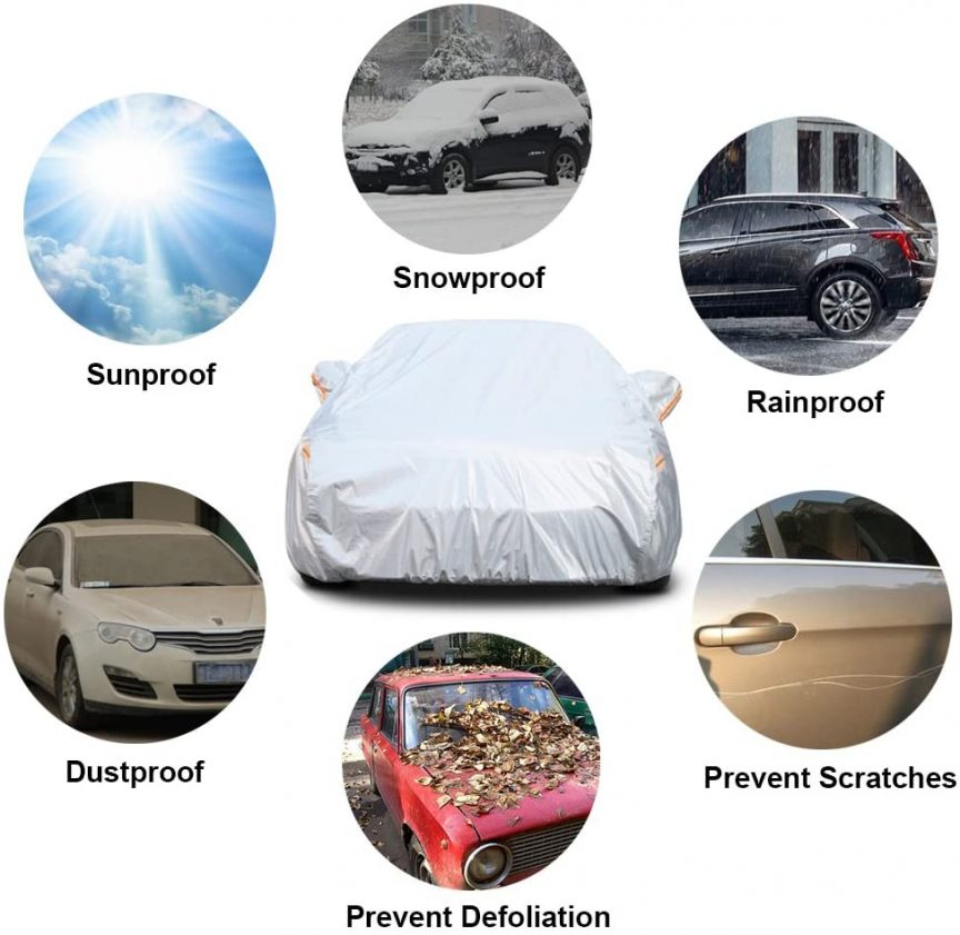 Budge Car Cover
