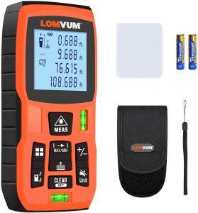 Laser Measure 393Ft - LOMVUM Laser Tape Measure Laser