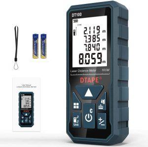 Laser Measure, DTAPE 328 Feet Digital Laser