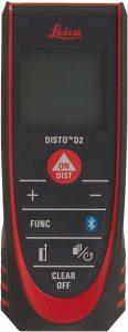 Leica 838725 DISTO D2 New 330ft Laser Distance Measure