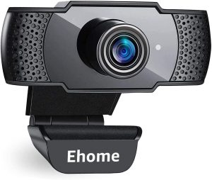 Webcam with Microphone, Ehome 1080P