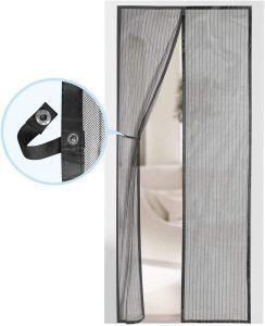 Magnetic Screen Door - Self Sealing