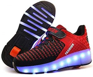 SDSPEED 7-Colors LED Roller Skate Shoes