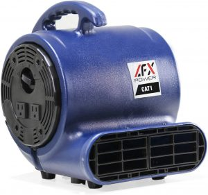 AFX POWER CAT 1 Air Mover Floor Fan Blower Carpet Dryer to Dry and Clean